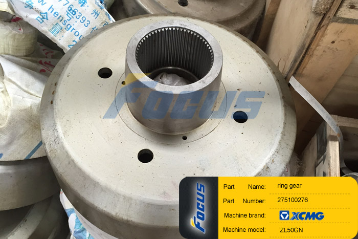 Xcmg Wheel Loader Zl50g Spare Parts Ring Gear Focus 174
