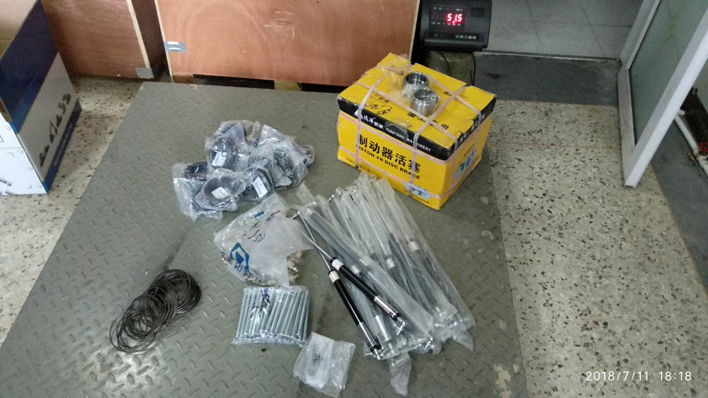 Spare parts for XCMG ZL50GN To Zambia